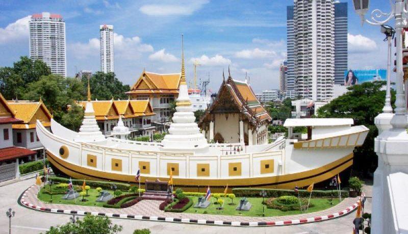 Kết quả hình ảnh cho Chùa Thuyền – Wat Yannawa