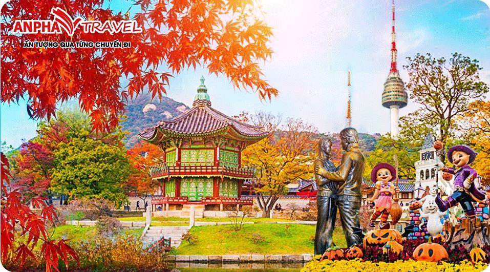 SEOUL – ĐẢO NAMI – CÔNG VIÊN EVERLAND